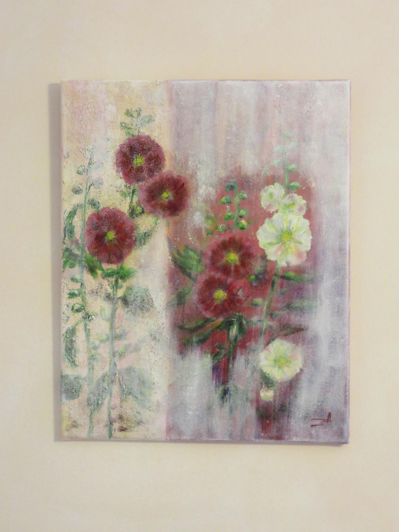 Roses tremieres, Nov 17
