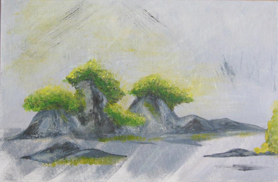 saikei (bonsai & roches)
