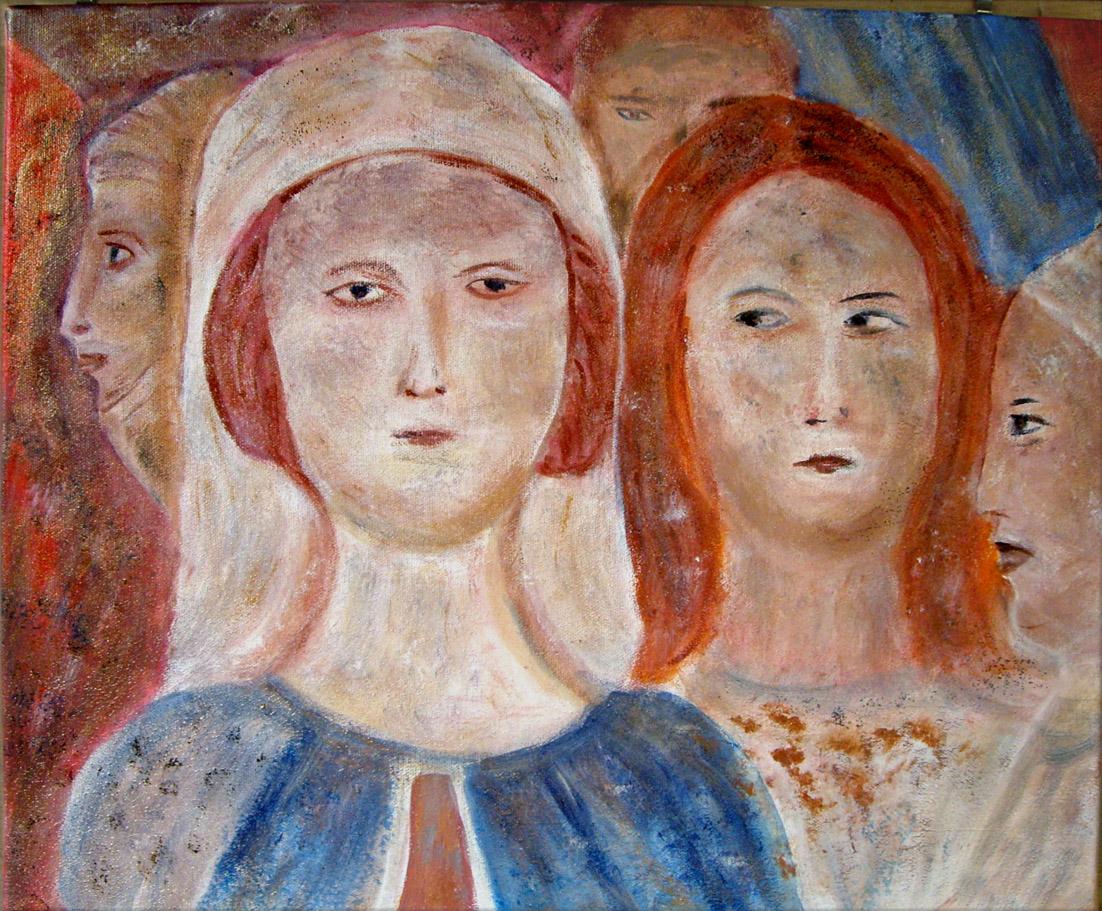 fresque medievale