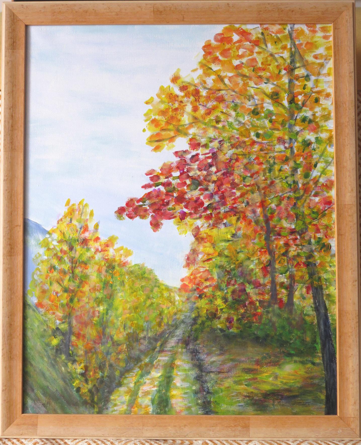 Chemin du Rocher St Andre en Royans